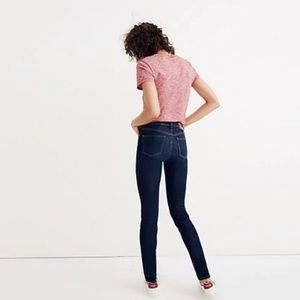 "Madewell 9"" High-Rise Skinny Jeans Larkspur Wash"